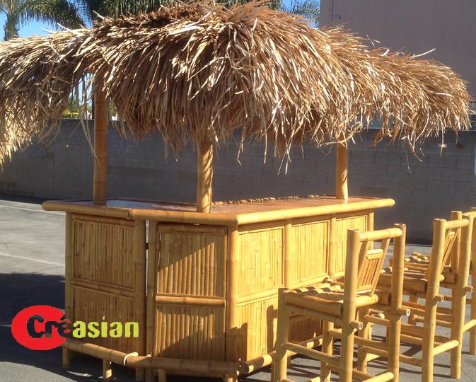 Bamboo Tiki Bar Cebu L Shape 3 Pole